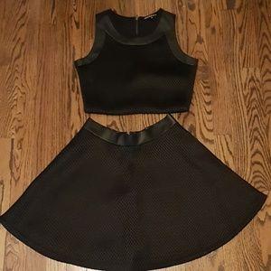 Other - Crop top skirt set
